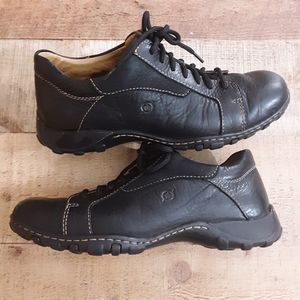 Born Concept Loomis Black Leather Oxfords Size9 M